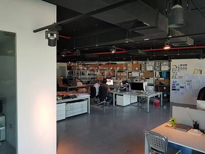 Office for Sale in Dubai Silicon Oasis, Dubai - Furnished and Fitted Office in Le Solarium DSO