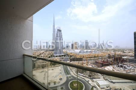 Stunning Studio with Burj Khalifa view