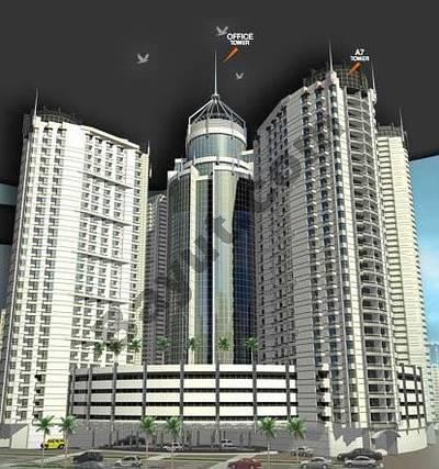 Office for Sale in Al Rashidiya, Ajman - Falcon Tower Exterior2