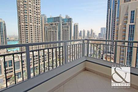 2 Bedroom Flat for Rent in Downtown Dubai, Dubai - Two Bedrooms   Boulevard Views   Balcony