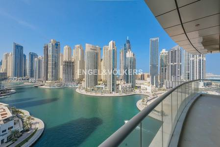3 Bedroom Apartment for Rent in Dubai Marina, Dubai - 4 Cheques| Marina View |Bright Apartment