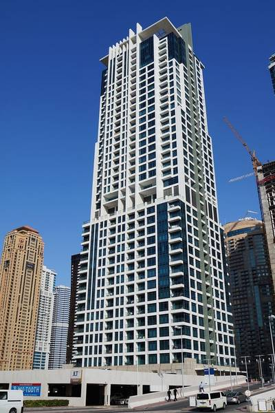 2 Bedroom Flat for Rent in Jumeirah Lake Towers (JLT), Dubai - Spacious 2 bhk apt for Rent in Lake side residence  rent starting from 95k
