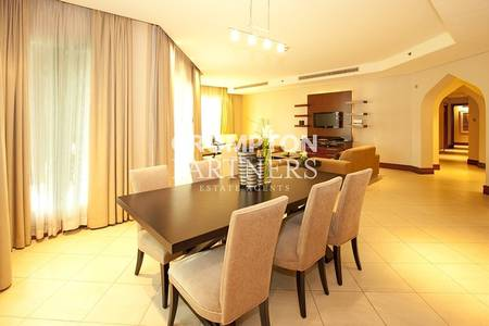 3 Bedroom Apartment for Rent in Al Maqtaa, Abu Dhabi - Superb Three Bed Furnished Serviced Unit