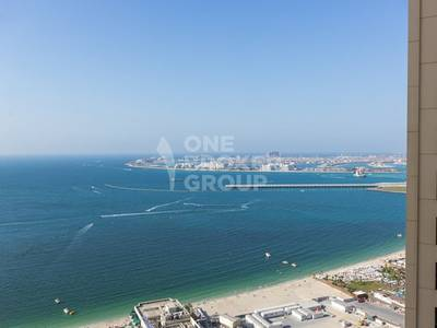 4 Bedroom Penthouse for Rent in Jumeirah Beach Residence (JBR), Dubai - Luxury Duplex Penthouse 4BR w/ Full Sea View