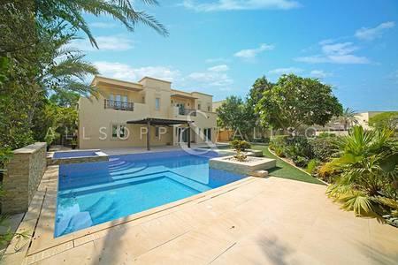 6 Bedroom Villa for Sale in Arabian Ranches, Dubai - Full Golf Course View | Type 18 in Al Mahra