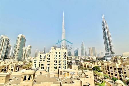 2 Bedroom Apartment for Sale in Old Town, Dubai - Two Bedroom Plus Study full Burj Khalifa view