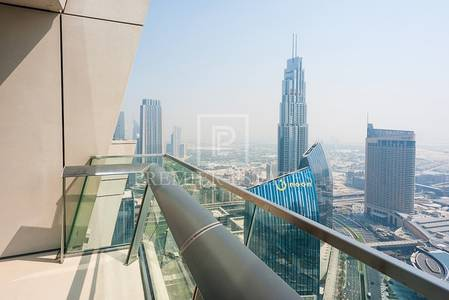 3 Bedroom Apartment for Rent in Downtown Dubai, Dubai - 3BR Maids - Full Burj and Fountain view