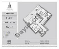 T1 1BR Unit 01 Level 6 - 23