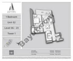 T1 1BR Unit 02 Level 6 - 23