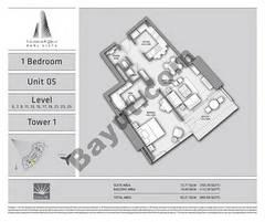 T1 1BR Unit 05 Level 5,7,9,11,13,15,17,19,21,23,25