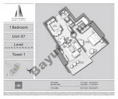 T1 1BR Unit 07 Level 4,6,8,10,12,14,16,18,20,22,24