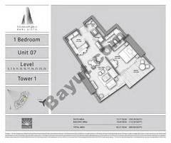 T1 1BR Unit 07 Level 5,7,9,11,13,15,17,19,21,23,25