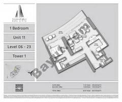 T1 1BR Unit 11 Level 6 - 23