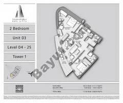 T1 2BR Unit 03 Level 4 - 25