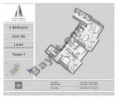 T1 2BR Unit 06 Level 4,6,8,10,12,14,16,18,20,22,24