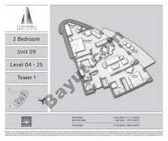 T1 2BR Unit 09 Level 4 - 25