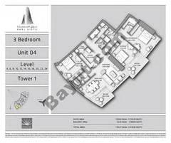 T1 3BR Unit 04 Level 4,6,8,10,12,14,16,18,20,22,24