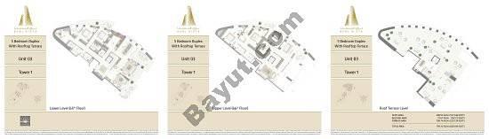 Burj Vista Penthouse Collection_all floor plans_Page - 3