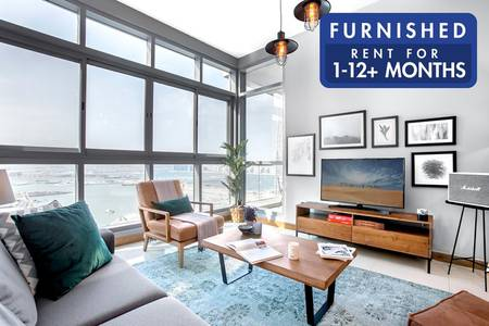 2 Bedroom Apartment for Rent in Dubai Marina, Dubai - Brand New Furniture | Stylish Interiors