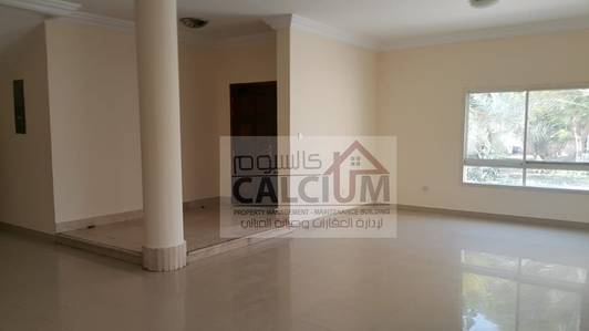 5 Bedroom Villa for Rent in Abu Dhabi Gate City (Officers City), Abu Dhabi - Wonderful villa standalone for rent with garden In Officers city AbuDhabi