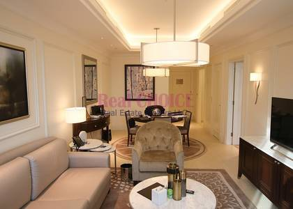 1 Bedroom Apartment for Rent in Downtown Dubai, Dubai - Burj Khalifa View|Furnished 1BR|4 Cheques