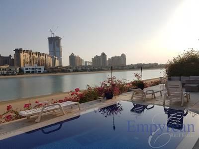 5 Bedroom Villa for Rent in Palm Jumeirah, Dubai - Beautiful Garden Villa Frond B - Palm Jumeirah