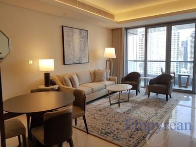 1 Bedroom Hotel Apartment for Rent in Downtown Dubai, Dubai - 1 Bed | 2 Baths | In The Address Downtown with Blvd View | ALL Bills Included