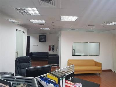 Office for Sale in Motor City, Dubai - Spacious: 1087 sqft - Well Design, Fully Fitted office with 2 Parkings
