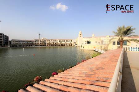 3 Bedroom Flat for Rent in Green Community, Dubai - 3BR + Maids - Huge Terraced Apartment