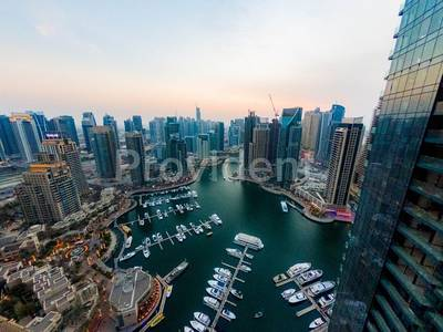 3 Bedroom Flat for Rent in Dubai Marina, Dubai - Classy Aesthetic 3 BED with Marina View|1 Cheque
