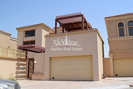 5 Bedroom Villa for Sale in Al Raha Golf Gardens, Abu Dhabi - 5-bedroom-villa-narjis-golf-gardens-abudhabi-uae