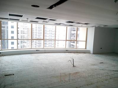 Office for Rent in Jumeirah Lake Towers (JLT), Dubai - Panaroma view office on the metro foe rent