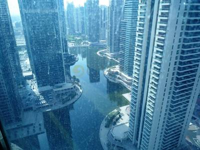 Office for Rent in Jumeirah Lake Towers (JLT), Dubai - fully furnished office l Lake View I JLT