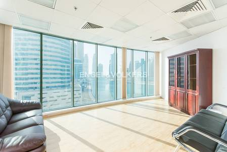 Office for Sale in Business Bay, Dubai - Fully Fitted Office | Burj Khalifa View
