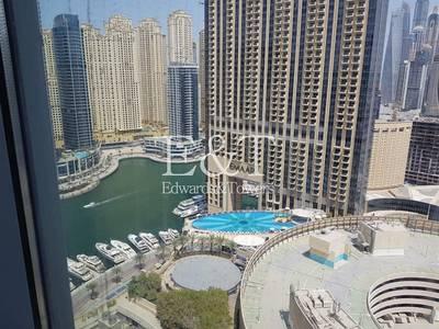 Office for Sale in Dubai Marina, Dubai - Stunning Fitted Office Unit on High Floor