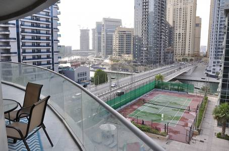 3 Bedroom Flat for Rent in Dubai Marina, Dubai - Fully Furnished 3 Bedrooms + Maids room