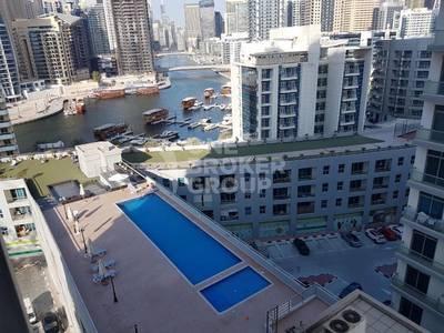 2 Bedroom Apartment for Rent in Dubai Marina, Dubai -  chiller free