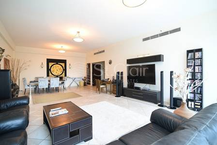 3 Bedroom Apartment for Sale in Dubai Marina, Dubai - Fully Furnished 3BR with Balconies + Maid