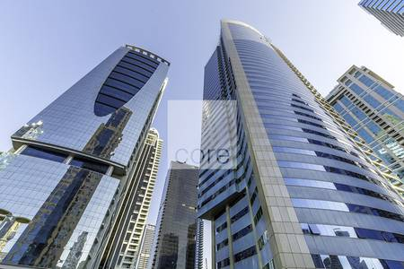 Office for Rent in Jumeirah Lake Towers (JLT), Dubai - Fitted office available | HDS Tower