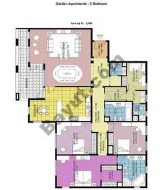 Garden Apartments 3 Bedroom
