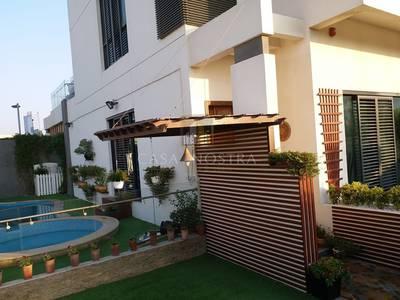 4 Bedroom Villa for Rent in Jumeirah Village Circle (JVC), Dubai - Luxury Corner 4BR+M Villa w/Private Pool