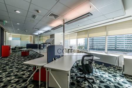 Office for Rent in Dubai Festival City, Dubai - Fullyfitted furnished office Festival City