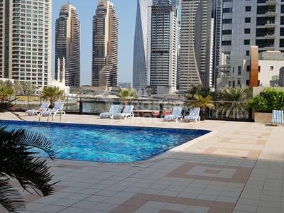 Studio for Rent in Dubai Marina, Dubai -  High floor