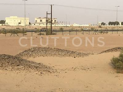 Plot for Sale in Al Tai, Sharjah - Plot on two roads ideal for two villas