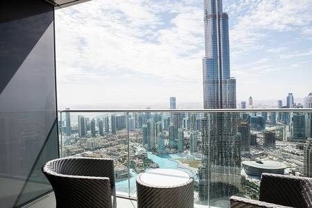 2 Bedroom Apartment for Rent in Downtown Dubai, Dubai - Full Burj and Fountain View | 2 Bed | High Floor