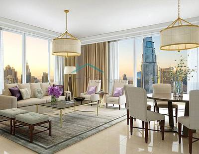 2 Bedroom Apartment for Sale in Downtown Dubai, Dubai - -10% OP | High Floor | Best 2 bedroom Layout