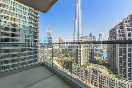 2 Bedroom Flat for Sale in Downtown Dubai, Dubai - Flawless 2 Bed | Vacant | Burj Khalifa view