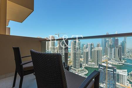 Studio for Sale in Dubai Marina, Dubai - Hotel pool system fully furnished studio