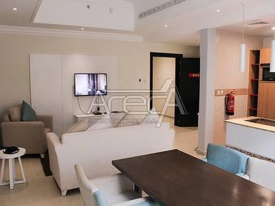 2 Bedroom Apartment for Rent in Al Salam Street, Abu Dhabi - Luxury Hotel Apt! 2 Bed Facilities near Khalifa Park, Salam Street