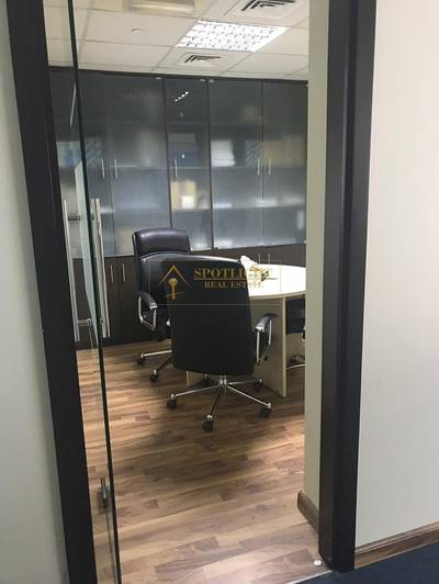 Office for Rent in Jumeirah Lake Towers (JLT), Dubai - Best Deal - Unfurnished Ready Office Glass Partitions JLT Indigo Icon  Size 1622 SqFt